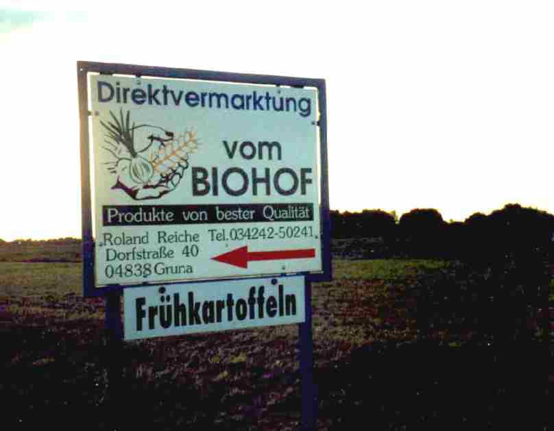 Wegweiser Biohof